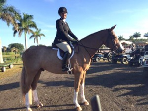 Taylor Brooks & Debonair at Winter Equestrian Festival