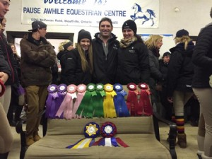 Congratulations to our Carleton Ravens Equestrian Team!